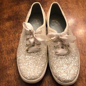 Ked's x Kate Spade wedding shoes